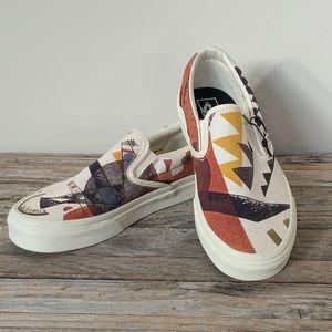 Vans X MoMA Vasily Kandinsky Slip-On Sneaker Shoes